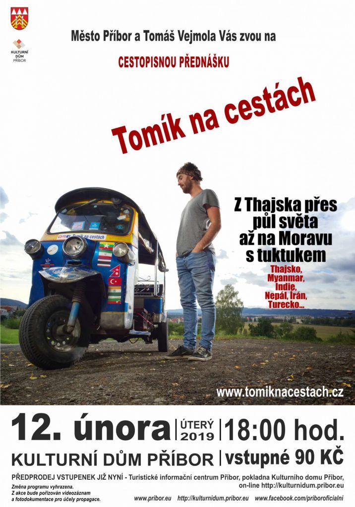 Cestopisná přednáška Tuktukem z Thajska až na Moravu 1