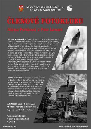 Výstava fotografií Aleny Pončové a Petra Lenharta 2