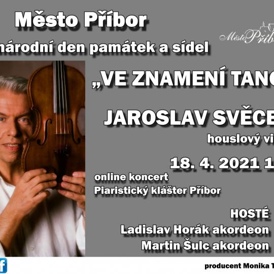 On-line koncert Jaroslava Svěceného 1