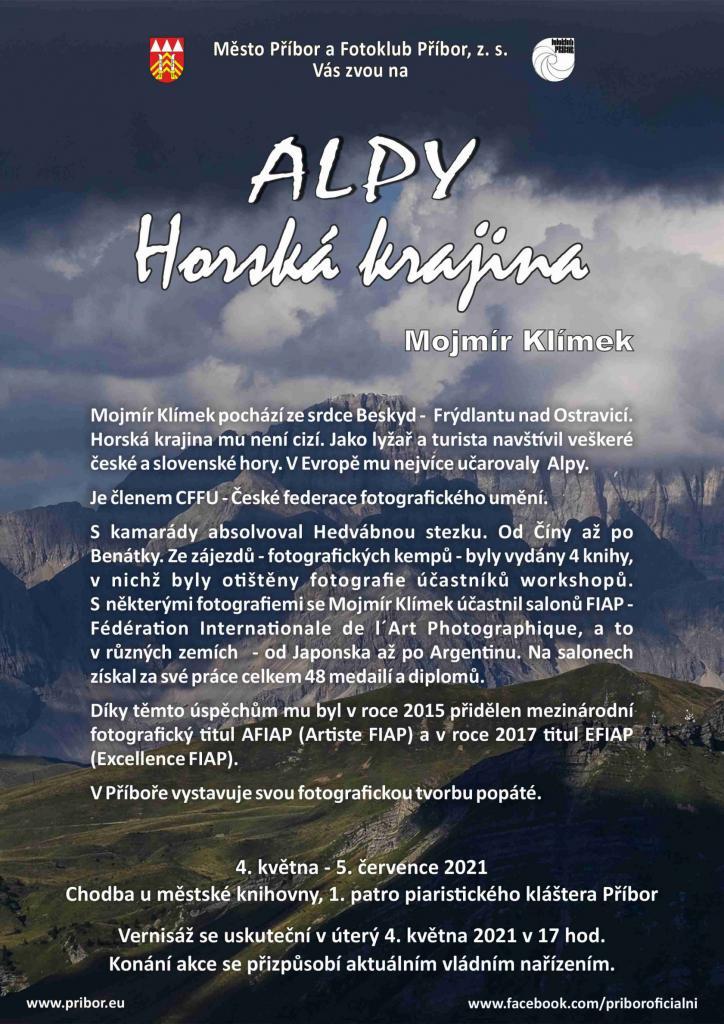 Výstava fotografií: ALPY - horská krajina 1