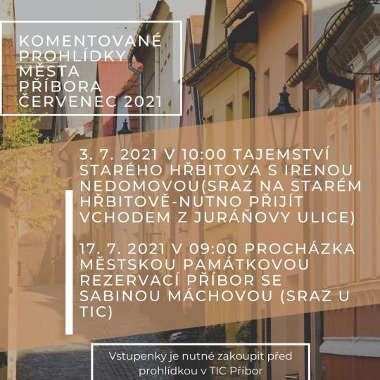 Komentovaná prohlídka města Příbora 1