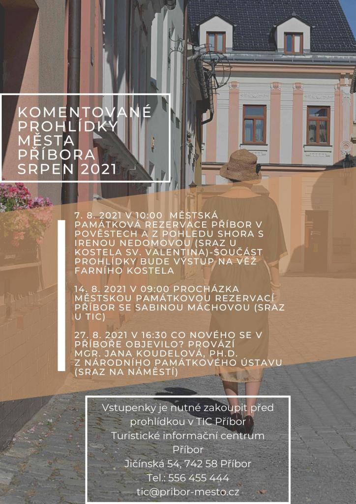 Komentovaná prohlídka Městská památková rezervace v pověstech a z pohledu shora 1