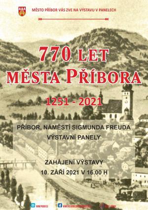 770 let města Příbora 1