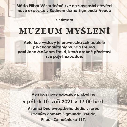 """EHD - Otevření expozice v Rodném domě S. Freuda """"Muzeum myšlení"""" 2"""