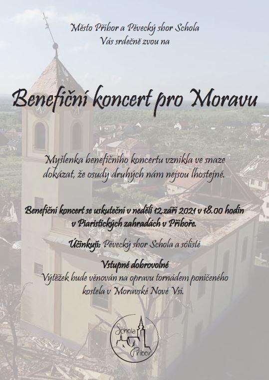 Benefiční koncert pro Moravu 1