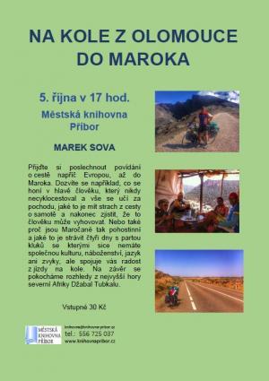Na kole z Olomouce do Maroka 1