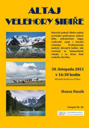 Altaj Velehory Sibiře 1