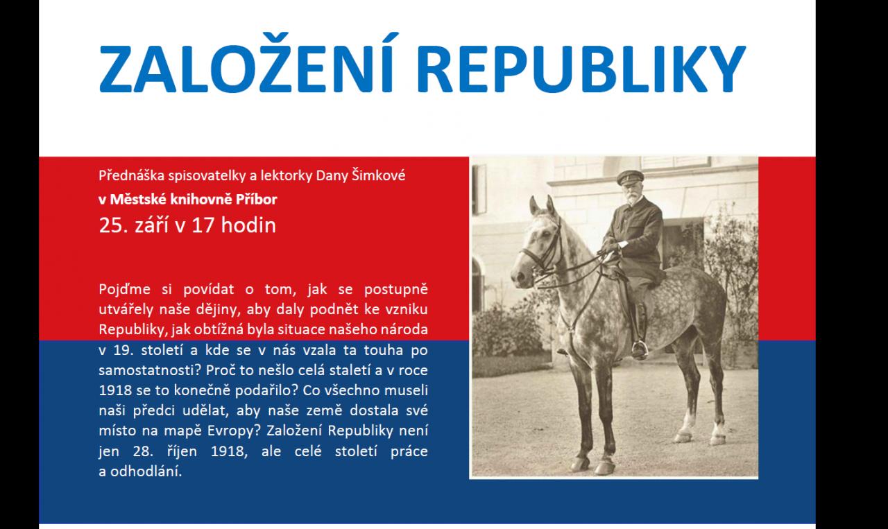 O založení republiky
